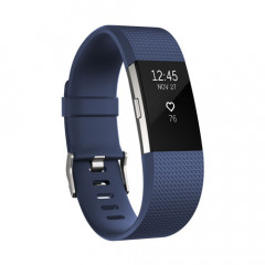 Fitbit Charge 2 Blue Silver Large