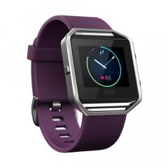 Fitbit Blaze Plum Small Smart Fitness Watch with HRM - GPS