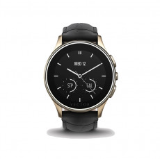 Vector Luna Champagne Gold with Black Croco Strap Smart Watch