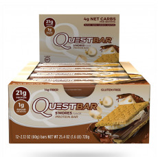 Quest Nutrition Protein Bar S-Mores 12 Per Box