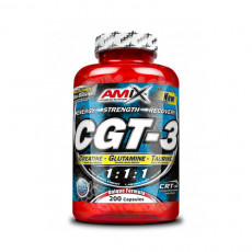 AMIX Amino Acids & BCAA Cgt-3 200Cap