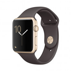 Apple Watch Series 2 MNPN2 42mm Gold Aluminum Case / Cocoa Sport Band