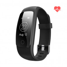 Very Fit Pro Smart Watch Fitness Tracker Black