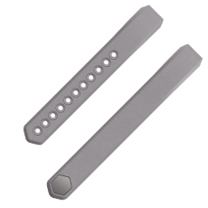 Fitbit Alta Leather Graphite Accessory Band