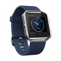 Fitbit Blaze Blue Large GPS Fitness Watch with Heart Rate Monitor