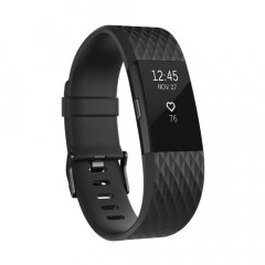Fitbit Charge 2 Black Gunmetal Special Edition Large