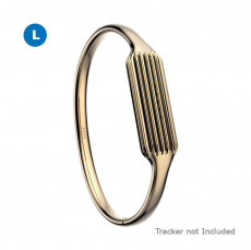 Fitbit Flex 2 Accessories Bangle Gold Large