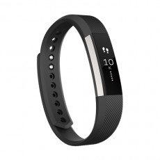 Fitbit Alta Black Large Fitness Tracker Classic Band