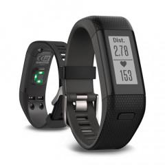 Garmin Vivosmart HR+ Activity Tracker with Wrist-based Heart Rate Plus GPS Black Regular Fit