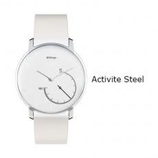Withings Activite Steel Watch White