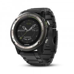 Garmin D2 Charlie Titanium Bezel with Titanium and Silicone Bands Watch - 010-01733-33