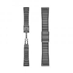 Garmin Fenix 5X QuickFit 26mm Slate Gray Stainless Steel Watch Bands