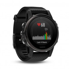Garmin Fenix 5S GPS Watch Black Sapphire with Black Band