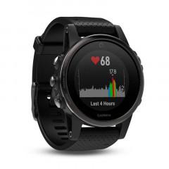 Garmin Fenix 5S GPS Watch Black Sapphire with Black Band