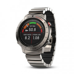 Garmin Fenix Chronos with GPS and Heart Rate Monitor (Titanium Hybird Watch Band)