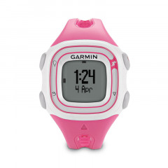 Garmin Forerunner 10 GPS Watch Pink and White
