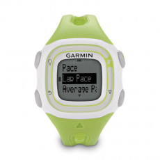 Garmin Forerunner 10 GPS Watch Green and White