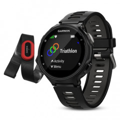 Garmin Forerunner 735XT Black and Gray Run-Bundle Watch