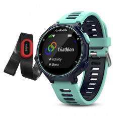 Garmin Forerunner 735XT Midnight Blue & Frost Blue Run-Bundle Watch