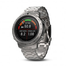 Garmin Fenix Chronos with GPS and Heart Rate Monitor (Brushed Stainless Steel Watch Band)