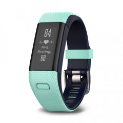 Garmin Approach X40 GPS Golf Band Frost Blue and Midnight Blue