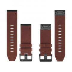 Garmin Fenix 5X QuickFit 26mm Brown Leather Watch Band
