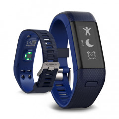 Garmin Vivosmart HR+ Activity Tracker with Wrist-based Heart Rate plus GPS Blue Regular Fit
