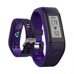 Garmin Vivosmart HR+ Activity Tracker with Wrist-based Heart Rate plus GPS Purple Regular Fit