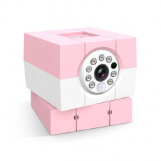 Amaryllo 360° Auto Tracking iBabi Plus Camera Pink
