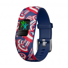 Garmin Vivofit Jr. 2 Activity Tracker for Kids Marvel Captain America (Ages 6+)