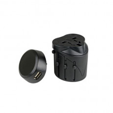 LifeVenture Universal Travel Adaptor with USB