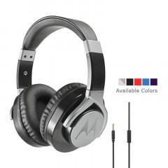 Motorola Moto Pulse Max Over-Ear Wired Sports Headphone Black