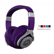 Motorola Moto Pulse Max Over-Ear Wired Sports Headphone Purple