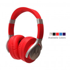 Motorola Moto Pulse Max Over-Ear Wired Sports Headphone Red