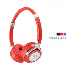 Motorola Pulse 2 SH005 Wired Headphone (Red)