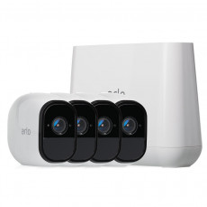Netgear Arlo Pro 2 Smart Security System with 4 Camera (VMS4430)