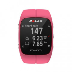 Polar M400 GPS Running Watch Pink