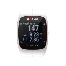 Polar M400 GPS Running Watch White