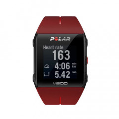 Polar V800 GPS Sports Triathlon Watch Red