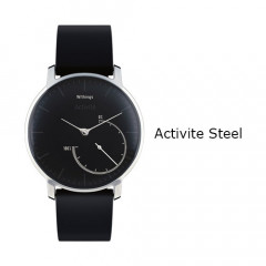 Withings Activite Steel Watch Black