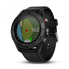 Garmin Approach S60 Black with Black Silicone Band - 010-01702-00