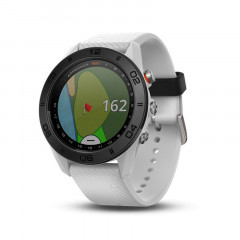 Garmin Approach S60 White with White Silicone Band - 010-01702-01