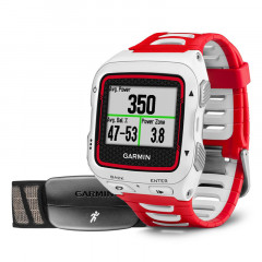 Garmin Forerunner 920XT GPS Watch White and Red Bundle