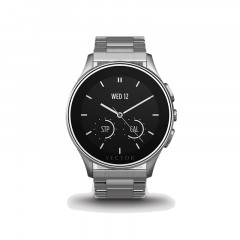 Vector Luna Steel with Steel Bracelet Smart Watch