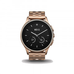 Vector Luna Rose Gold with Rose Gold Bracelet Smart Watch