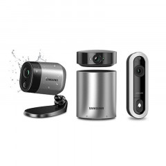 Samsung Wisenet Smartcam Security System and Video Doorbell (SNA-R1210W)