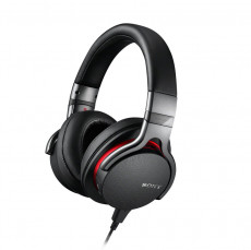 Sony MDR1ADAC Premium Hi-res Stereo Headphones Black and Red