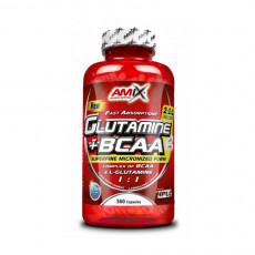 AMIX Amino Acids & BCAA Glutamine + BCAA 360Cap