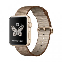 Apple Watch Series 2 44mm MNPP2 Aluminum Case Gold / Toasted Coffee / Caramel Nylon