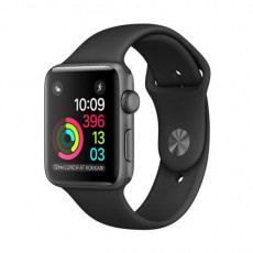 Apple Watch Series 2 MP062 42mm Aluminum Case Black Sport Band